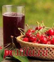 Компот из вишни и черешни: 2 рецепта