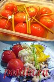 Маринад для овощей за сутки