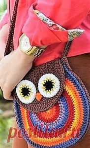 (+2) Летняя сумочка (вязание крючком, схема)