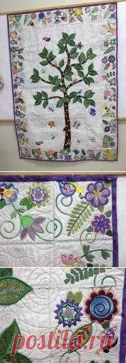 Anita Goodesign Prayer Garden Quilt
