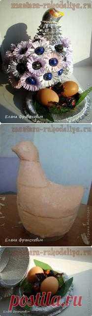 Пасхальная Куропатка  Интересный свит-дизайн на Пасху.