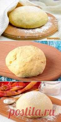 Китайское тесто. Выпечка с помощью этого тесто многие дни остается мягким и вкусным!