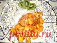Курица с ананасом в кисло-сладком соусе. Фото-рецепт / Готовим.РУ