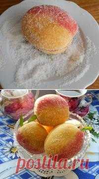 Печенье -персики!!