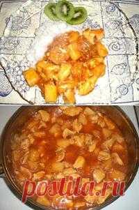 Тайская кухня: курица в кисло-сладком соусе
