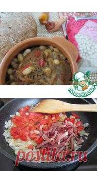 Литовская кухня: Хлебный суп с фасолью