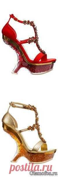 Летняя обувь из новой коллекции Alexander McQueen(Александр МакКуин)