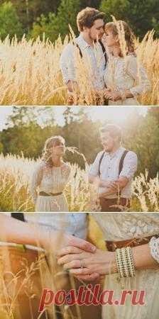 Полем-лесом, лесом-полем: love-story Елены и Анатолия - WeddyWood