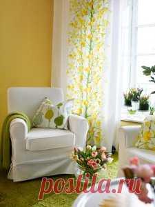 Весенний интерьер: как освежить дом и поднять настроение.