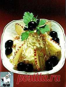 Салат капустный с соусом Буйяд | zhdanovpapa.ru