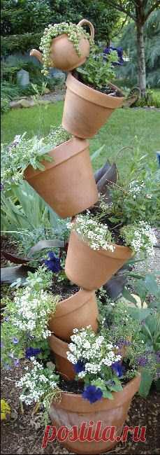 Tal composición adornará su casa de campo o el jardincito. Todavía las ideas por la camarilla a la estampa.
