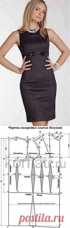 Выкройка современного женского платья фото 892