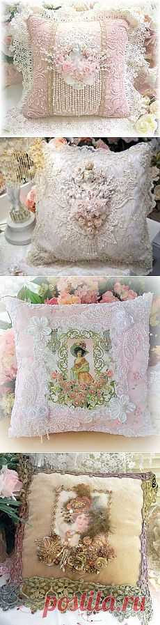 VINTAGE PILLOWS. SHEBB STYLE CHIC.