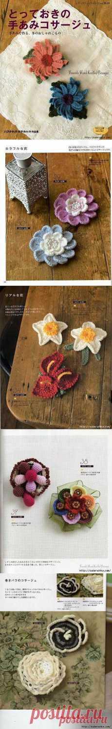 LAS FLORES\u000d\u000aSvetlana Ismailova: las flores tejidas, Irlanda   Постила.ru