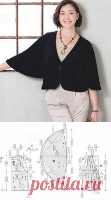 Блузка с летучими рукавами сшить