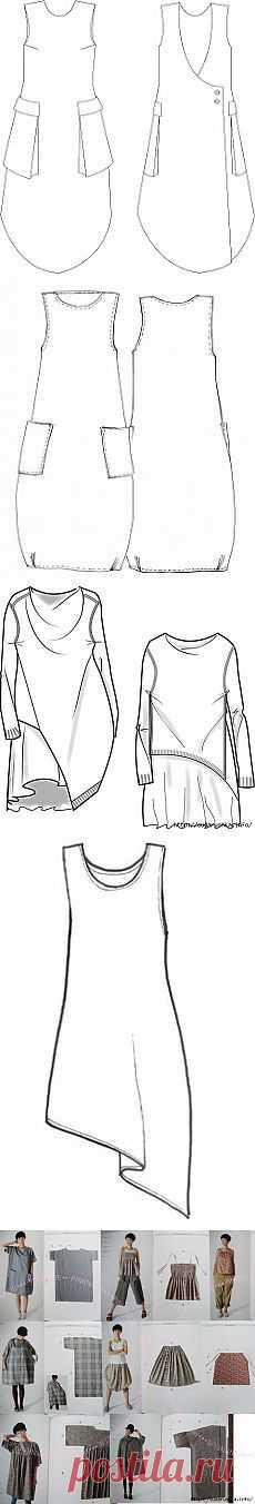 For lovers of boho style. Schemes pattern.   выкройки