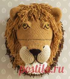 Мастер-класс голова льва