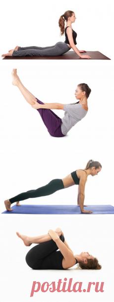 4 упражнения из йоги, которые помогут избавиться от целлюлита за 10 дней картинки