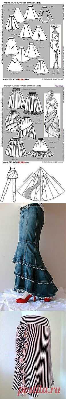 flared skirts   ШИТЬЁ