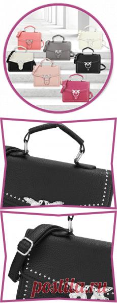Женские сумки BUYLEN SWAIIOW ЭЛЕГАНТНЫЙ ДИЗАЙН И АККУРАТНЫЙ СИЛУЭТ BUYLEN - SWAIIOW Стильная мягкая сумочка через плечо гармонично впишется в любой образ, а внешний минималистичный дизайн позволит подчеркнуть приверженность ее владелицы вечно актуальной классике. Модель из высококачественной эко кожи, застегивается фирменной застежкой с ласточками на клапане. С комфортом чередовать варианты ношения позволяют удобные ручки и регулируемый плечевой ремешок.