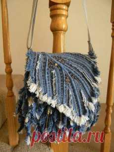 Джинсовая сумка своими руками выкройки фото 838