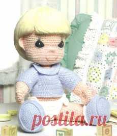 Neonato sdraiato | Uncinetto amigurumi, Bambole di uncinetto ... | 267x230