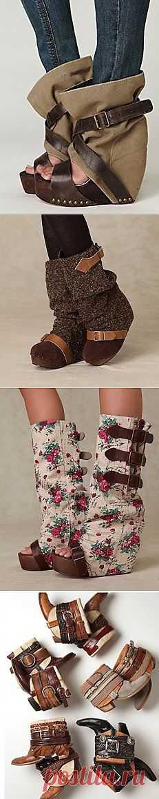 Превращение саб в сапоги (трафик) / Обувь / Модный сайт о стильной переделке одежды и интерьера
