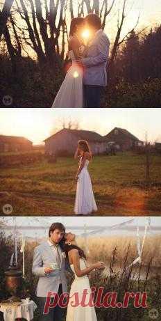 Тёплые воспоминания: Love-story Ольги и Александра - WeddyWood