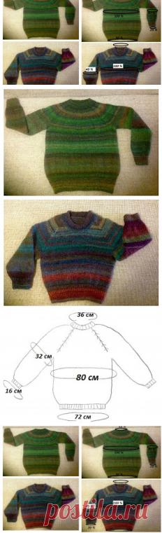 Knitting&Design: Вяжем сверху вниз.