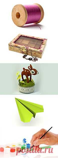 Сделай сам: поделки своими руками. Идеи для дома, креативный handmade. Строительный портал DIY.RU