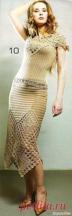 костюм(кофта и юбка).