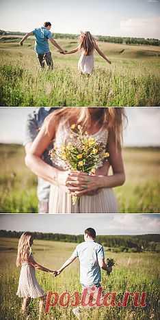 Красота природы: Love-story Димы и Ани - WeddyWood