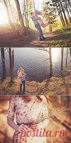 Красота природы: love-story Ирины и Василия - WeddyWood