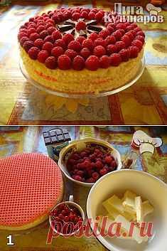 Торт вафельный Гости на пороге — рецепт пошаговый от Лиги Кулинаров