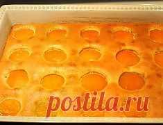 Воздушный пирог с абрикосами » Всем За Стол!