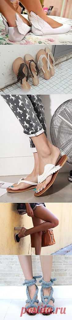Разномастные идеи переделки обуви / Обувь / Модный сайт о стильной переделке одежды и интерьера
