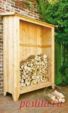 Домик для дров.