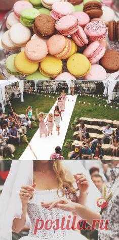 Sweet love: свадьба Наташи и Олега - WeddyWood