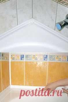 Бордюрная лента для ванных комнат   Строительство и ремонт