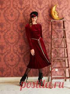 Los patrones de los vestidos de Burda – bajar los patrones en Burdastyle.ru