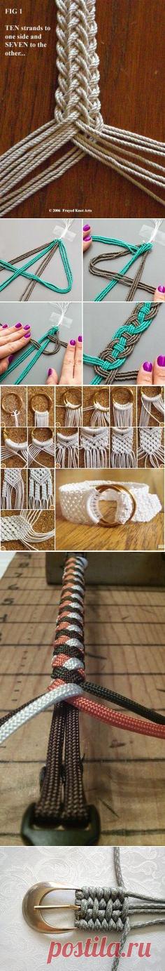 Double braid bracelet. | Baskets