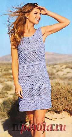 Платье, сарафан » Страница 6 » Ниткой - вязаные вещи для вашего дома, вязание крючком, вязание спицами, схемы вязания