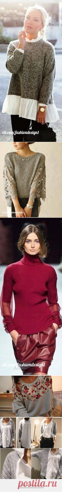 Портной • Шитье, переделки - легко!Вторая жизнь свитера. Идеи для вдохновения.