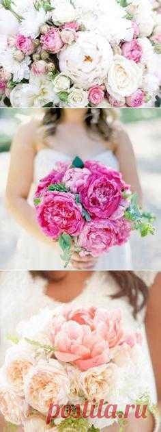 Летние цветы в букете невесты - WeddyWood