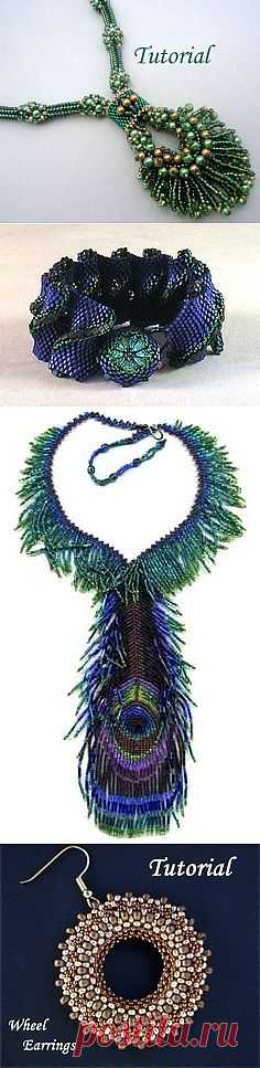 Tutorial Peacock Neklace | DIY & Crafts that I love