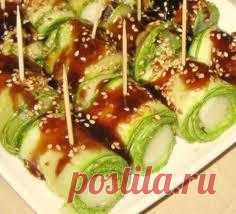 Продолжаем вариации на тему: блюда из кабачков.