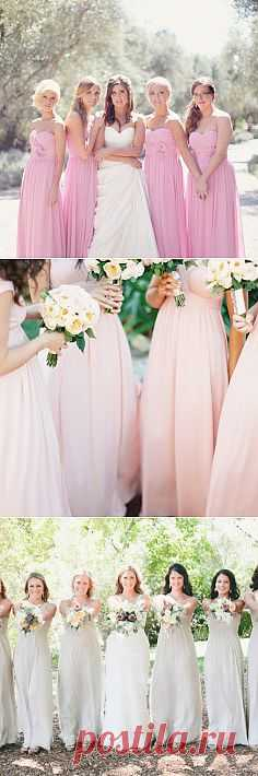 Платья подружек невесты: 8 главных трендов - WeddyWood