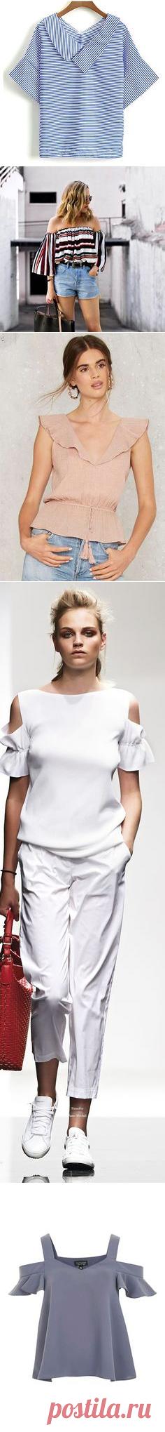 (1) Blusas в Pinterest