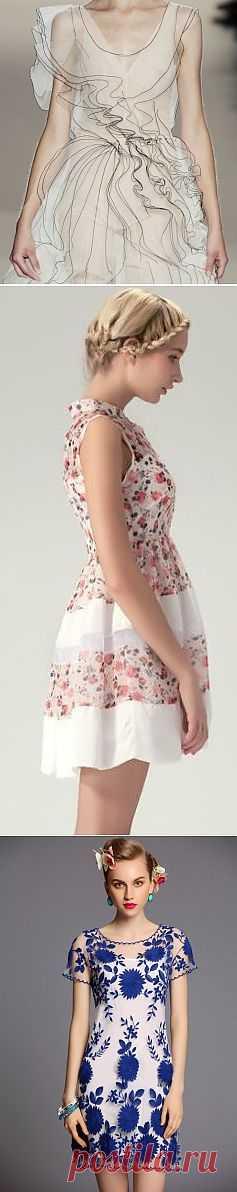 Используем прозрачность (подборка) / Фактуры / Модный сайт о стильной переделке одежды и интерьера