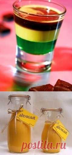 Рецепты коктейлей с голландским ликёром «Адвокат»